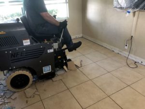 Dustless floor removal and installation - Flooring Removal Loxahatchee, West Palm Beach, Royal Palm Beach, Wellington - Bedard and Son Installations
