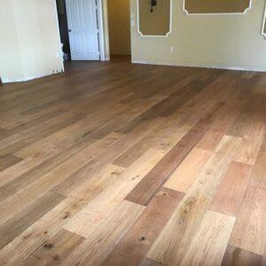 Custom Aged Summit Wood Flooring Installation - Bedard and Sons Installations_4