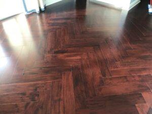 Custom Nuvell Wood Flooring Installation - Bedard and Sons Installations_5